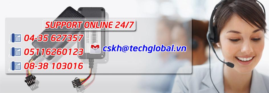 Mua sản phẩm thiết bị định vị xe máy tại Techglobal hỗ trợ tư vấn miễn phí 24/7